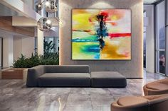 Large Abstract Painting Modern abstract painting original image 3 Large Canvas Wall Art, Extra Large Wall Art, Abstract Canvas Art, Original Paintings, Original Art, Original Image, Oversized Wall Art, Bedroom Paintings, Large Painting