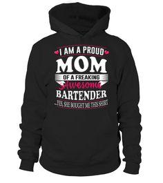 Bartender Shirt Mom Mother's Day Hoodie