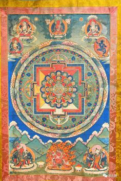 Tibetan Art, Buddhist Art, Diwali, Buddhism, Rugs, Home Decor, Mandalas, Farmhouse Rugs, Decoration Home