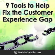 Gaps due to lack of coordination and communication contribute to a frustrating customer experience. Social media can have a role in bridging the gaps.