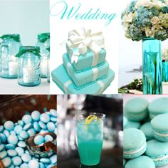 A Tiffany blue wedding