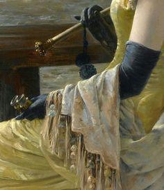 .:. Alfred Emile Leopold Stevens (1823-1906)