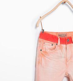 ZARA - KIDS - Contrast bermuda shorts