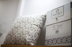 #BoutiqueLiving's #Marrakech features single stitch on your pillowcases with solid flange to create a fuller looking bed!  #Bedsheets #HomeDecor #Architecture #Decor #Luxury #Bedding