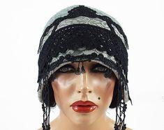 Designer Hat Felted Hat Cloche Hat Flapper Hat by filcant on Etsy