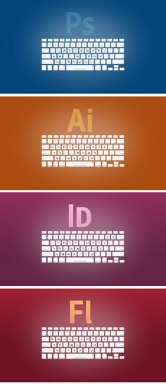 Adobe keyboard short cuts