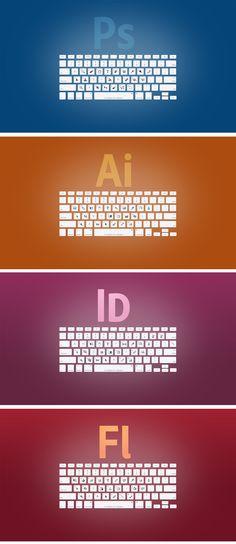 Atajos para los programas de Adobe, ¡mola! @AdobeRRPP