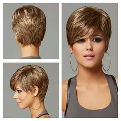 Another style I love – Hair Styles Little Girl Haircuts, Haircuts For Fine Hair, Cute Hairstyles For Short Hair, Short Thin Hair, Short Hair Updo, Short Hair Cuts For Women, Short Hair Trends, Short Haircut Styles, Layered Hair