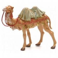 Camello en pie 19 cm Fontanini | venta online en HOLYART Moroccan Party, Christmas Nativity, Animal Sculptures, Vignettes, Paper Flowers, Carving, History, Creative, Nativity Scenes