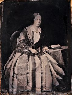 The Ideal Woman, English 1/4-Plate Ambrotype, Circa 1853    Purchased in Newbury, England.