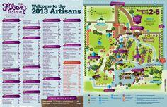 2013 Filberg Festival Site Map (3) Site Map, Artisan, Craftsman
