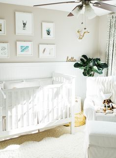 Decorating a baby's room can be more difficult when you don't know if it's a boy or girl, but this couple nailed it with a bright gender neutral nursery!