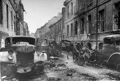 Viejas Fotos de The Berlin Destruido en 1945