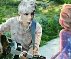 Uploaded by Queen Elsa. Find images and videos about music, elsa and jack on We Heart It - the app to get lost in what you love. Jelsa, Elsa Images, Rapunzel, Jack Frost And Elsa, Queen Elsa, How To Make Comics, Elsa Frozen, Dreamworks, Otp