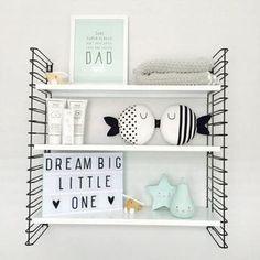 TIP: Wandrek kinderkamer! Baby Bedroom, Baby Room Decor, Nursery Room, Girls Bedroom, Bedroom Decor, Ideas Geniales, Kids Decor, Home Decor, Little Girl Rooms