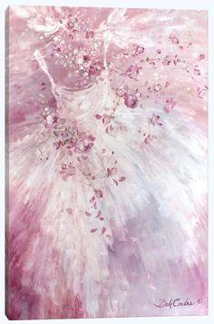 Enchanted Canvas Print by Debi Coules - Debi Coules Romantic Art
