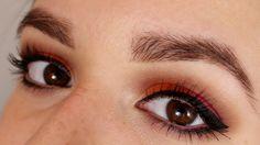 Maquillaje en tonos rosas y naranjas - tutorial. Maquillaje para primavera / Pink and orange eye makeup for spring