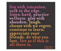 intention.