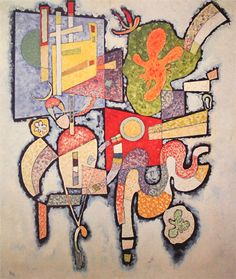 Wassily Kandinsky - Complex-Simple, 1939