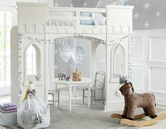 I love the Pottery Barn Kids Fairy Castle on potterybarnkids.com