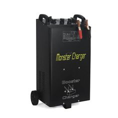 This single-phase, battery charger and starter on wheels is ideal for charging lead-acid batteries with 12-Volt/24-Volt voltage and starting all kinds of cars, vans, light trucks, tractors and trucks. Equipped with a selector for normal charge, quick charge (boost), quick start, timer for quick charge and LCD display. Whether for professionals or weekend garage DIY'ers, our unit offers an easy-to-read LCD screen and multiple functions to meet all your demands. Tractor Battery, Battery Clamp, Small Trucks, Lead Acid Battery, Charger, Laptop, Samsung, Wheels, South Africa
