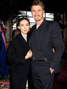 Star Tracks: Monday, October 5, 2015   COME TOGETHER   Pan costars Rooney Mara and Garrett Hedlund pose at the film's N.Y.C. afterparty on Sunday.