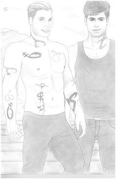 Jace Wayland / Herondale And Alec Lightwood