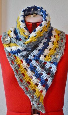 Lego Friends Inspired Crochet Scarf By Scissorstyle On