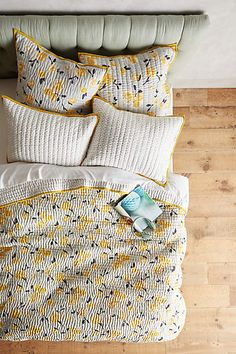 Anthropologie EU Dinora Quilt.