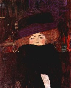 Gustav Klimt--see this painting in person...it is stunning and unforgettable