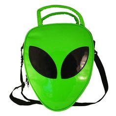 Alien Handbag: http://shop.nylon.com/collections/whats-new/products/alien-handbag. #NYLONshop