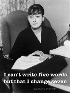 Writing quotes - Dorothy Parker