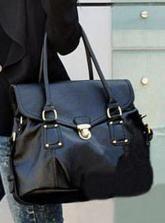 #Udobuy Black Vintage Shoulder Bag