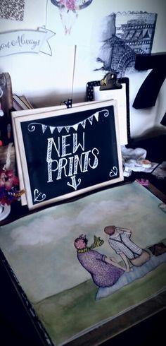 New Signs! Sarah Hudson-Duncan