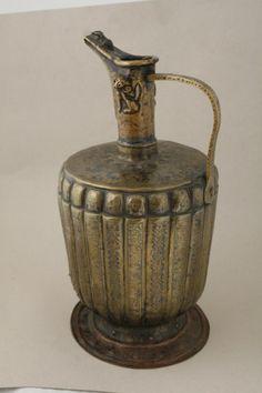 Ewer, Made by Mahmud ibn Muhammad al-Haravi. Herat, Afghanistan, 1181-2