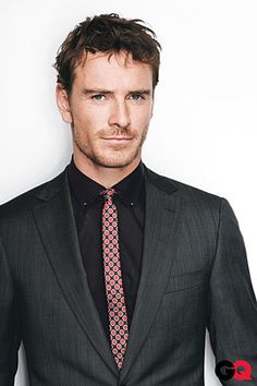 Micheal Fassbender.. don't know him, but wouldn't mind getting to know him.