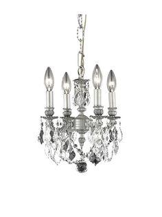 Crystal Lighting Lillie 4-Light Mini Chandelier