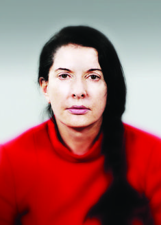 """The Artist is Present"" Marina Abramovic"