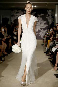 Bridal Week 2014 : la robe de mariée du défilé Monique Lhuillier