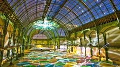 Here's How Daniel Buren And 1024 Architecture Teamed Up To Transform Monumenta For Bal Blanc   | The Creators Project