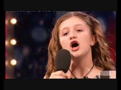CHLOE HICKINBOTTOM (10) STUNS AUDIENCE ON BRITAIN'S GOT TALENT. I was stunned at the beauty of the lyrics and the vision of this song.