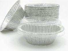 "4"" Tart Pan with Plastic Lid - #1152P"