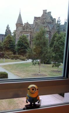 Minion visiting Edinburgh University!