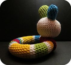 Playful Baby Loop Rattle Free Pattern