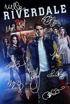 'Signed Riverdale Poster' Poster by CapnMarshmallow Riverdale Poster, Riverdale Quotes, Riverdale Archie, Riverdale Funny, Riverdale Cast, Latest Movies, New Movies, Good Movies, Series Movies