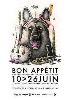 Bon Appétit Solo Show « Nicolas Barrome