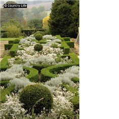 The garden at Broughton Grange