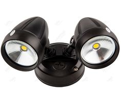 2x 8w COB LED 5000k Twin Flood - Black - External btw Rumpus & Bed 3  Spotlight. It uses two 8W COB LED globes, which are much more efficient than standard globes. $78.00AUD RRP $259.80 SAVE $181.80 (70%) SKU: 62280 Ideally the spotlight should be mounted between 1.5 & 2.5m (6 to 8ft) above the ground. IP Rating: IP44 Width: 220mm Protrusion: 182mm Length: 119mm Base Diameter: 113mm Light Diameter: 76mm Lumen output: 1280LM Beam Angle: 115° Dimmable: No Colour Temperature: Daylight (5000k)