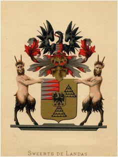 Oirschot - Familiewapen van het geslacht Sweerts de Landas - 1881