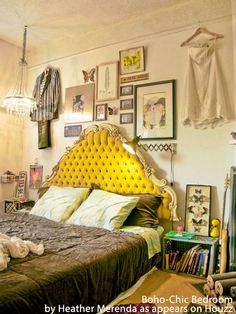 Consider going bohemian! The cushy yet free-spirited look of Boho-Chic is easy to achieve with earth tones and vintage accessories - . Bohemian design is a fun and friendly look that exudes creativity and a carefree attitude.  #Bohemian #beds #CharlesPRogers